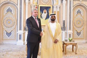 Estonian ambassador Abu Dhabi credentials